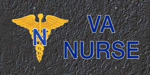 LP 225 VA Nurse License Plate