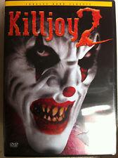 Olimpia Fernandez, Debbie Rochon KILLJOY 2 ~ Charles Banda Culto Horror GB DVD