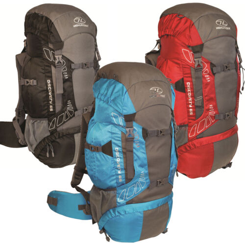 65 Litre Discovery Rucksack With Airmesh Back System Ideal For Travellers,Hiking