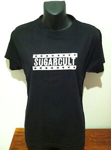 SUGARCULT-T-SHIRT-Stars-Logo-NEW-OFFICIAL-MERCHANDISE-SIZE-Fitted-Large-Rare