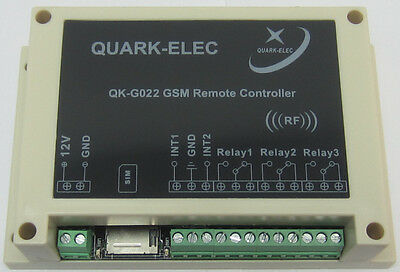 GSM SMS Remote control module with enclosure-UK seller