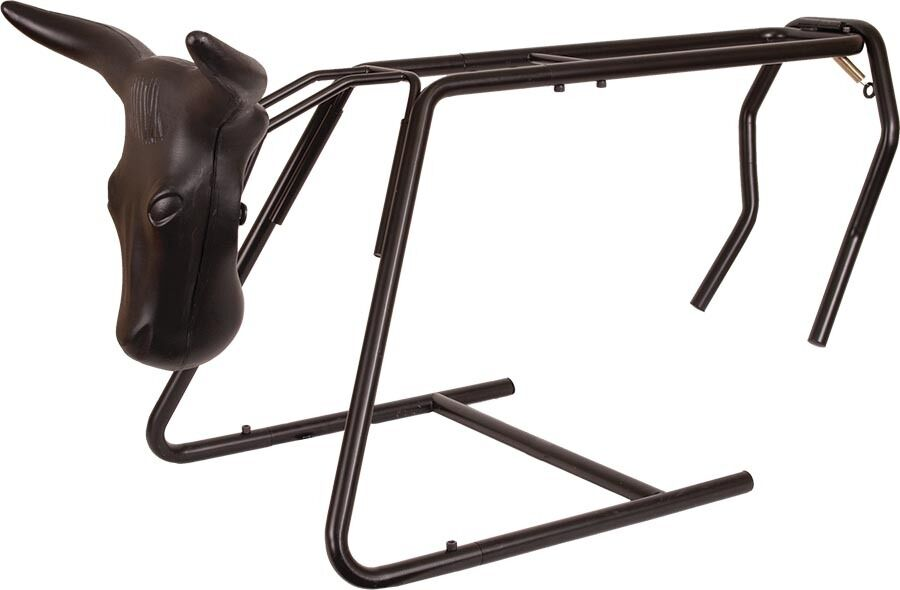 Mustang Roping Heading and Heeling Dummy Stand -  Collapsible   Portable NWT  beautiful