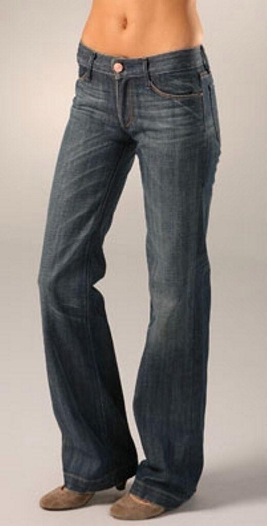 NWT  Earnest Sewn Gemma wide leg jeans size 27 x 35