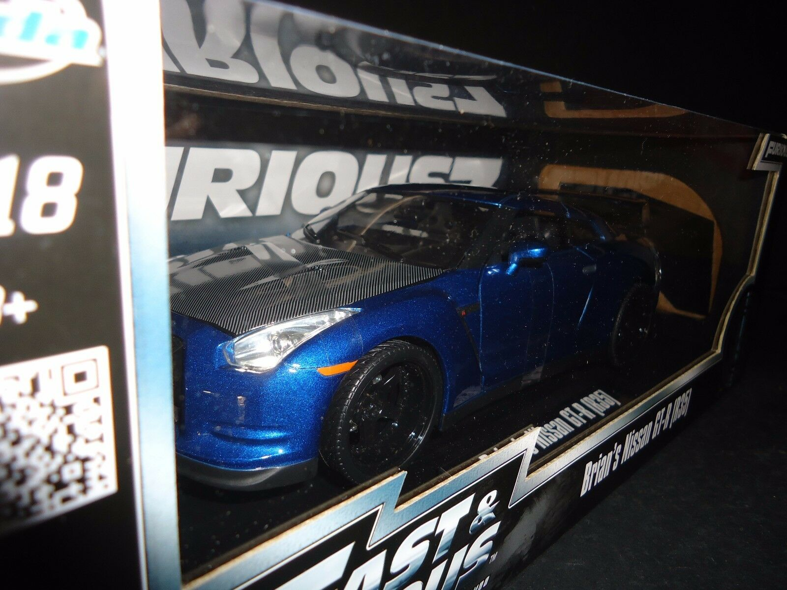 Jada Nissan GT-R R35 Brian's Car Fast and and and Furious 7 1 18 175a32