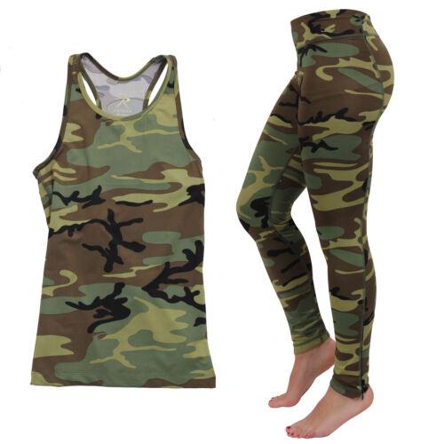 Tank Top OR Leggings Women/'s Performance Camo Moisture Wicking Active Wear