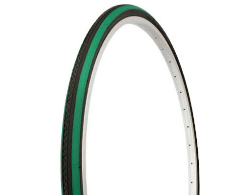 """Duro Bicycle Tire  27/"""" x 1 1//4/"""" Tire Road City Fixie  Bike COLOR SIDEWALL NEW"""