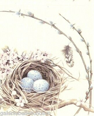 IHR Lunch Servietten Bird's Nest Vogel Eier Ostern Frühling Fest Feier Napkin
