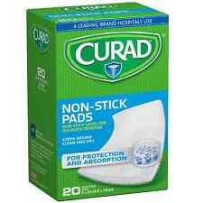Curad Non-Stick Pads 2 x 3 in 20 ea