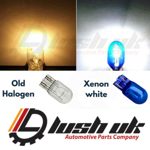 T20 7443 HALOGEN DRL SIDELIGHT ERROR FREE CANBUS WHITE CORSA ASTRA INSIGNIA UK