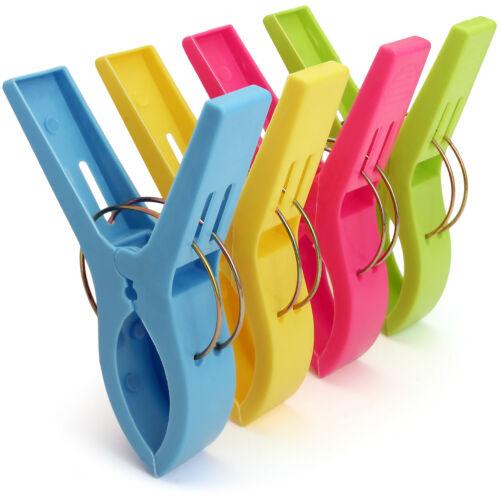 Serviette de plage Clips Plastique Couette chevilles pour linge chaise longue transat pinces à linge