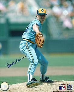 Brewers Pitcher BOB McCLURE Signed 8x10 Photo #6 AUTO - 1982 World Series