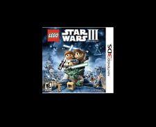 "Nintendo 3DS ""Star Wars III - The Clone Wars"" Brand NEW & Sealed ** Lego"