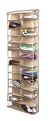 wholesal! Homewares 26 Pocket Over the Door Organizer Shoe Shelves