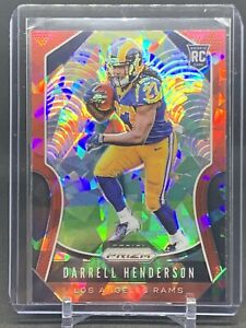2019-NFL-Prizm-Darrell-Henderson-Rams-Red-Cracked-Ice-Prizm-Rookie-Card-330