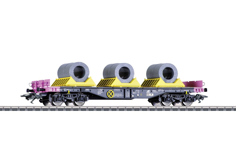 Märklin 48655 Vagón de silverforma de Cargas Pesadas Modelo Sgmmns 4505 Err Con