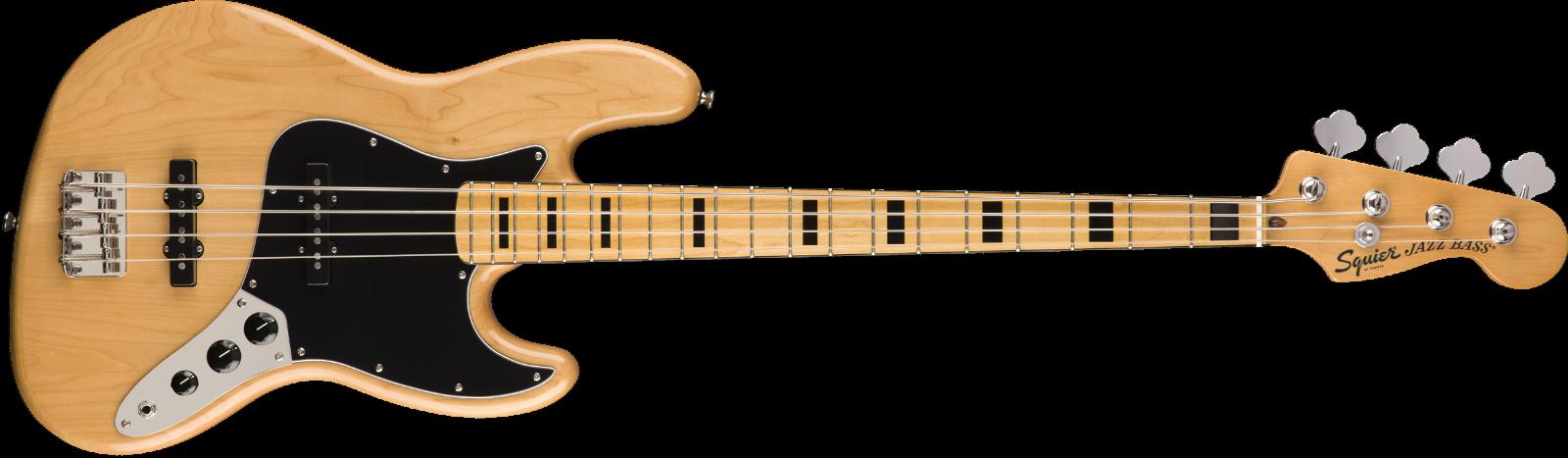 Squier Classic Vibe '70s Jazz Bass MN Natur