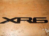 Jaguar Xr8 Xr-8 Trunk Decklid Front Fender Grill Grille Emblem Badge Black