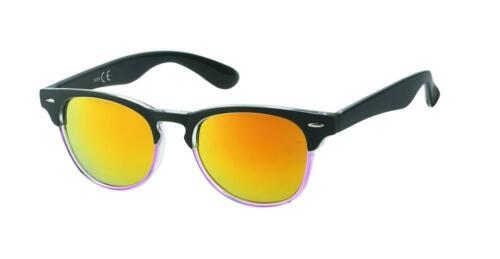 Lunettes de soleil étroit Perles Hautes En Couleur Unisexe Miroir 400 UV style Nerd Wayfare