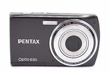 Pentax Optio E80 10MP 2.7'' SCREEN 3X DIGITAL CAMERA - BLACK