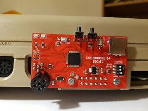 SD2IEC COMMODORE 64 FLOPPY EMULATORE
