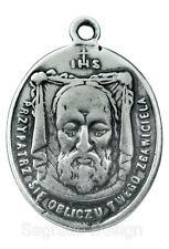 VERONICA'S VEIL / O. L. OF SORROWS Medal, silver, from 19th c. Italian original