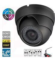 Hd Cvi 1080p 2mp Auto Zoom 2.8-12mm 1/2.8 Sony Exmor Cmos Hd Output Gray