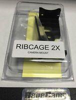 Ribcage Backbone 2x Mount Mod Kit For Gopro Hd Hero4 Camera Black Silver Mod1x