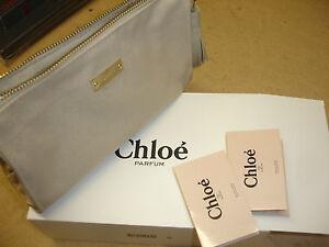 Details about DESIGNER CHLOE CLUTCH - PURSE - MAKE UP BAG + 2 FREE PERFUME  SAMPLES FREEPOST d59e30c030a42