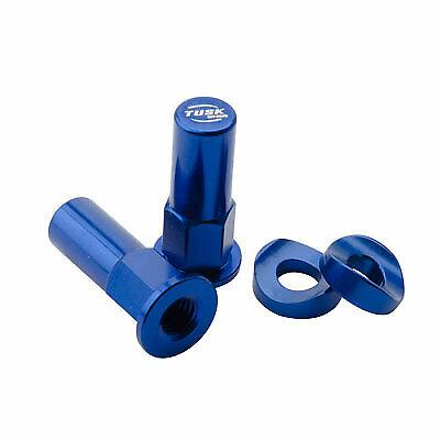 Tusk Rim Lock Nut//Spacer Kit Blue HONDA CR125R 1979-2007,CR250R 1978-2007,CR500