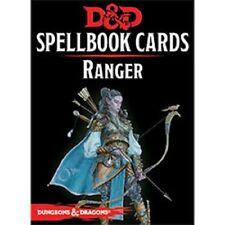 Gale Force Nine 73920 D&d Spellbook Cards Ranger Deck