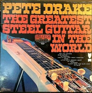 SEALED-Pete-Drake-LP-The-Greatest-Steel-Guitar-In-World-JM-6052-1967-Mono