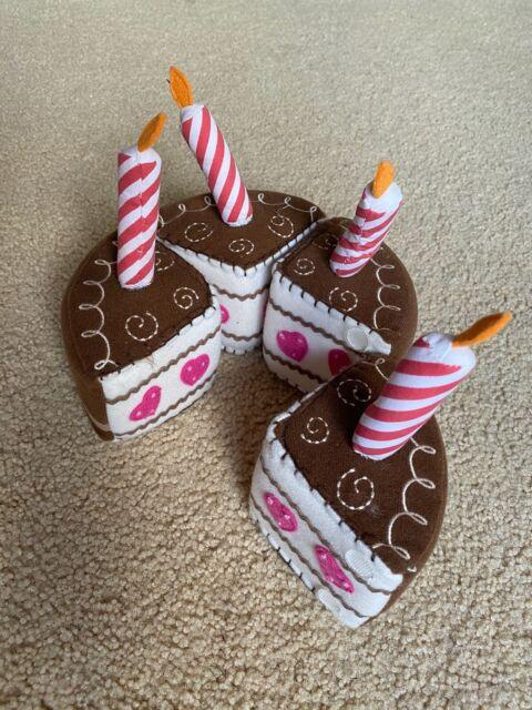 Gently Used Pottery Barn Kids Felt Birthday Cake Play Set