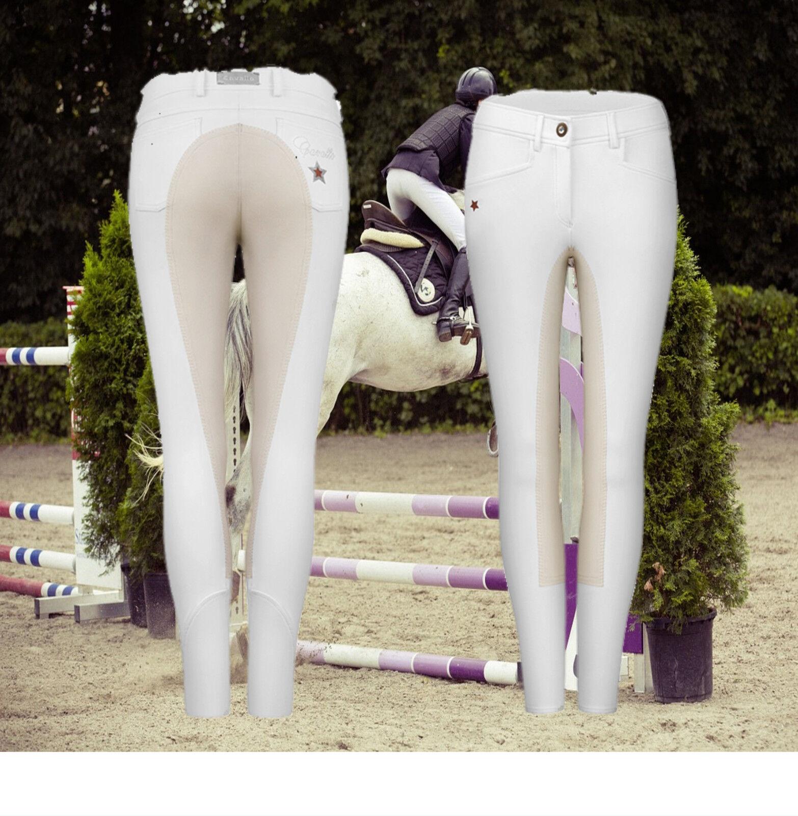 Cavallo Reithose weiß, Civa, Vollbesatz, weiß, Reithose Cavallo Civa  Damen Turnier Reithose 45ca48