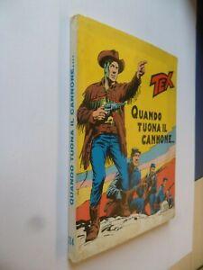 Tex-Prima-Edizione-L-200-N-114-Quando-Tuona-il-Cannone-Ed-Araldo-Ottimissimo
