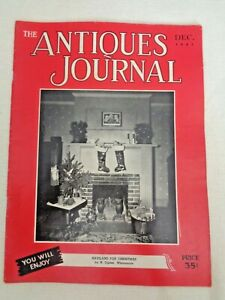 Antiques-Journal-1951-Haviland-for-Christmas-Paisley-Shawls-Wedgwood-Cameos-Toys