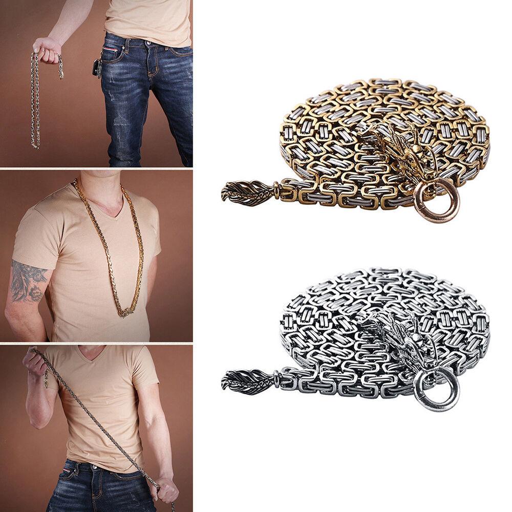 Titanium Steel Outdoor Arts Self Defence Bracelet Neck Waist Belt Chain Welcome Boxing, Martial Arts & MMA