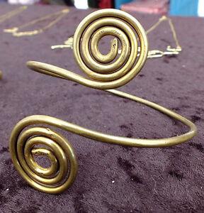 Spiral Arm Bracelet - Gift, Jewelry Charm Armband, Upper Arm Bracelet, Bracelet