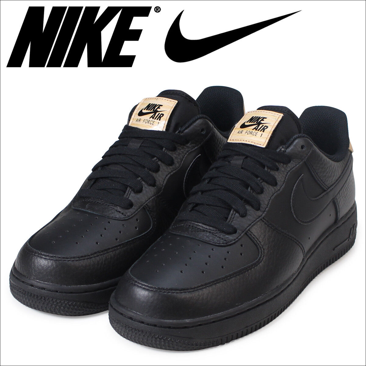 Nike Air Force 1 one 07 lv8 nuevo gr:45, 5 Negro us11, 5 negro cortos Negro 5 718152-016 dd9b6b
