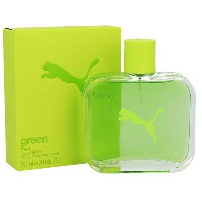 emulsión fósil Ocurrencia  Puma Green Man Edt 90 ml | eBay