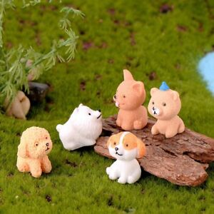 Mini-Dog-Fairy-Garden-Figurines-Miniature-Cake-Decor-Resin-Crafts-Sculpture-P