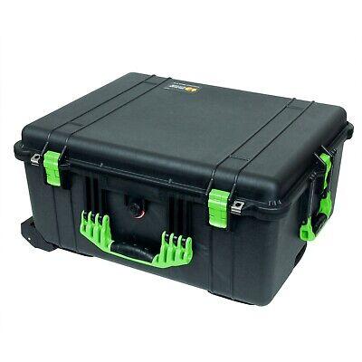 "Interior Dimensions Pelican 1610 Watertight Protector Case 21.8/""x16.7/""x10.6/"""
