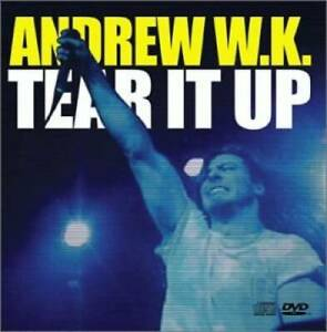 Tear-It-Up-Your-Rules-CD-Single-amp-DVD-Audio-CD-By-Andrew-WK-VERY-GOOD