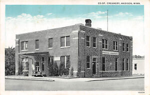 MADISON-MN-1928-Madison-Co-Op-Creamery-Building-VINTAGE-MINNESOTA-rl447