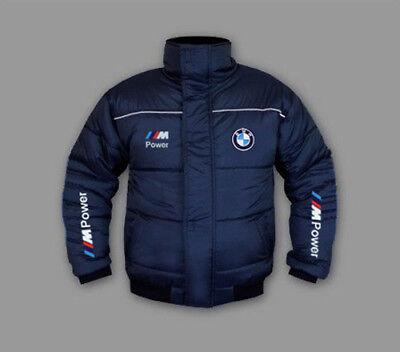 Neu BMW M power Herren Winter jacke mit gestickte logos, Blue, S 3XL | eBay