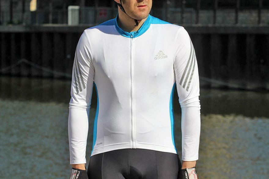 Men Adidas Climalite Cycling Shirt Jersey Trikot Camiseta Bicycle Bike S M L