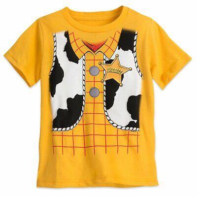 Disney Store Toy Story Woody Costume Short Sleeve T Shirt Boy Size 5//6
