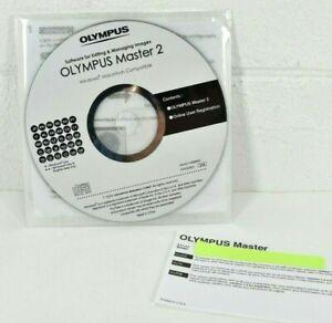OLYMPUS MASTER 2 Editing & Managing Images Software Windows / MAC CD-ROM NEW