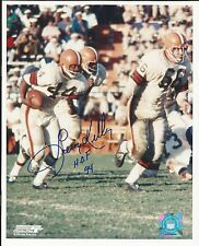 Leroy Kelly H.O.F 94 Cleveland Browns Signed Auto 8x10 Football Photo Autograph