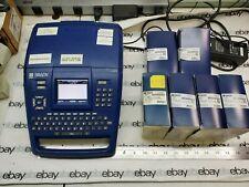 Brady Bmp71 Labeler Bundle With 4 Y1889565 Black Ribbon 3 Y4092886 White Label