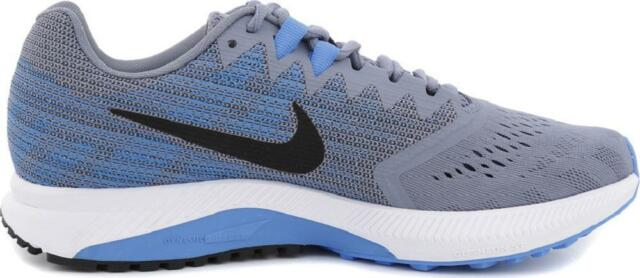 892421c483d Nike Zoom Span 2 Men s US 10 Running Shoes SNEAKERS Grey Blue 908990 ...